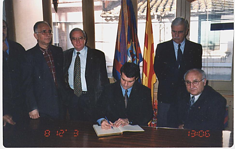 President Joan Laporta